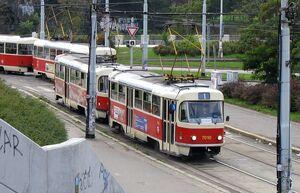 Vltavská lijn1 T3SU