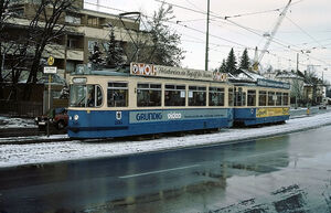 Dall'Armistraße lijn21 M4