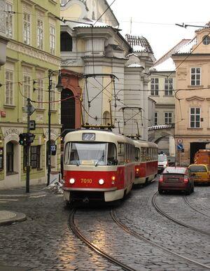 Letenská lijn22 T3SU