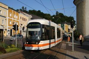 Cityrunner 017 in Ebelsberg 2005-08-01