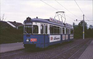Freiburger Straße lijn4 GT6Z