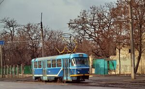 Спуск Маринеско lijn12 T3SU