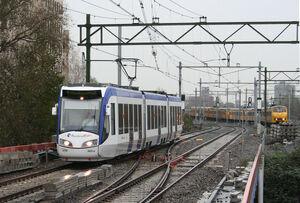 HTM 4021 Den Haag Station Laan van NOI 16-11-2006 Infrastructuur