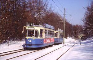 Züricher Straße lijn16 M5
