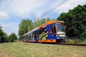 Merseburg Kötzschener Weg lijn15 MGT6D
