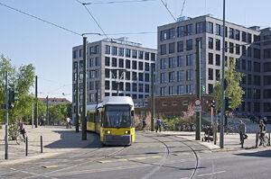 S Nordbahnhof lijnM10 GT6N