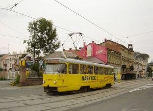 Nádraží město lijn7 T3
