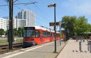 S-Bahnhof Marzahn lijn16 GT6N