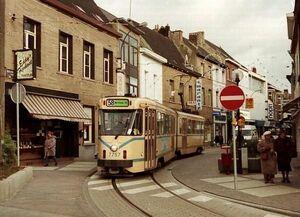 Vilvoorde Leuvensestraat lijn58 PCC