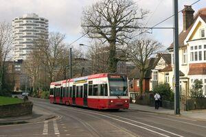 Croydon Tramlink Addiscombe Road