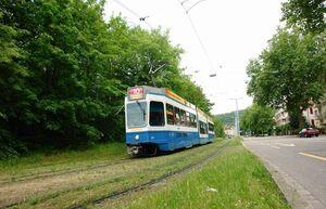 Milchbuck lijn10 tram2000