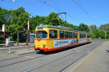 Rheinhafen lijn5 GT8 2