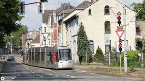Weststrasse lijnU72 Combino