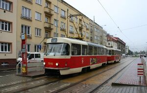 Nove Strasnice lijn7 T3SU