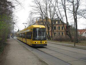 Meußlitzer Straße lijn2 NGT8DD