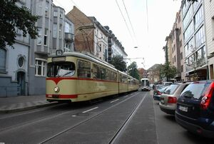 Morsestraße lijn707 GT8