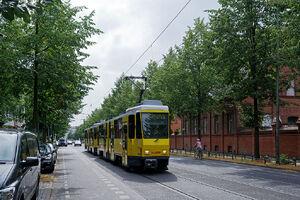 Werneuchener Straße lijnM5 KT4D