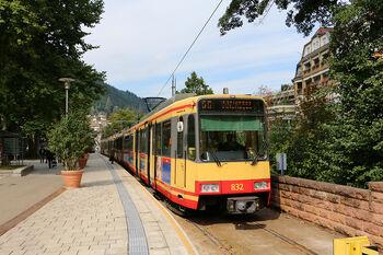 Bad Wildbad Kurpark lijnS6 GT8-100C-2S