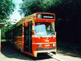 Dubbel Gelede Tram Lang