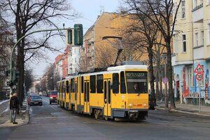 Wühlischstraße Gärtnerstraße lijnM13 KT4D