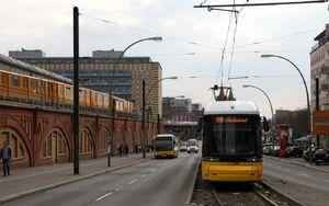 Warschauer Straße lijnM10 Flexity