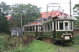 Tramstel NBM 20 + 43 + 402; Bovenkerk