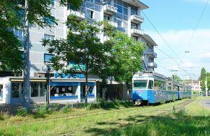 Schwamendingerplatz lijn7 Mirage