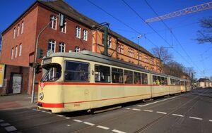Johannstraße lijn707 GT8
