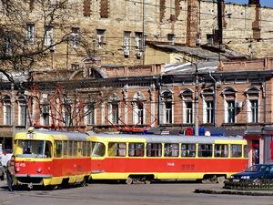 Tiraspol'skaya Ploshchad' lijn10 T3SU