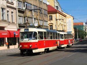 Arbesovo náměstí lijn23 T3SUCS