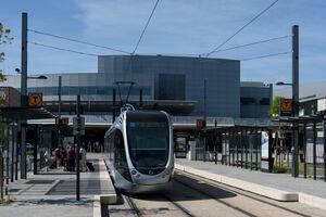 Aéroport Toulouse-Blagnac lijnT2 Citadis
