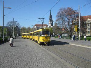Albertplatz lijnE3 T4D