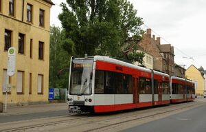 Merseburg Häckelstraße lijn5 MGT-K