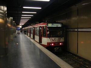 Victoriaplatz-Klever Straße lijnU79 B