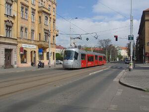 Ortenovo náměstí lijn14 14T
