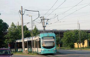 Hoheneckenstraße lijn6 Variobahn
