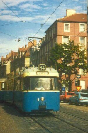 Kazmairstraße lijn14 P316