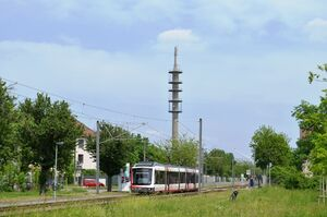 Bensheimer Straße lijn5 Variobahn