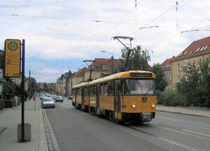 Am Trachauer Bahnhof lijn4 T4D