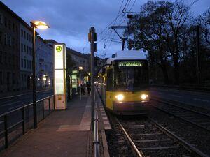Berliner Allee Indira-Gandhi-Straße lijnM4 GT6N
