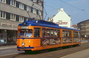 Herzogbrücke lijn611 GT8