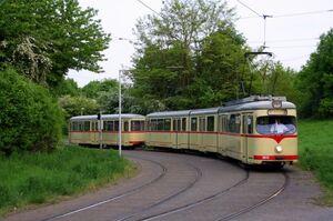 UniversitätOst lijn707 GT8