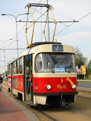 Depo Hostivař lijn7 T3SU