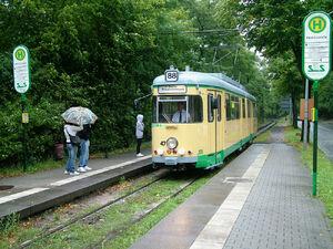 Heinitzstraße lijn88 GT6