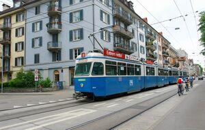Wildbachstrasse lijn2 Mirage