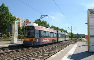 Landsberger Chaussee lijnM6 GT6N