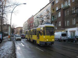 Boxhagener Straße Holteistraße lijn21 KT4D