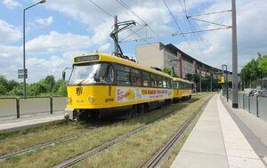 An der Flutrinne lijn9 T4D