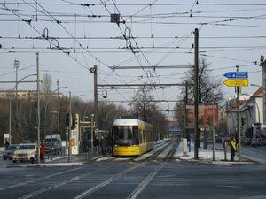Greifswalder Straße Danziger Straße lijnM4 Flexity