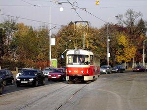 Vozovna Střešovice lijn2 T3SUCS